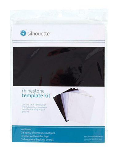 Silhouette rhinestone template kit hotfix SILH-RHINE-TEMPSET-3T 814792010617 Cityplotter Zaandam