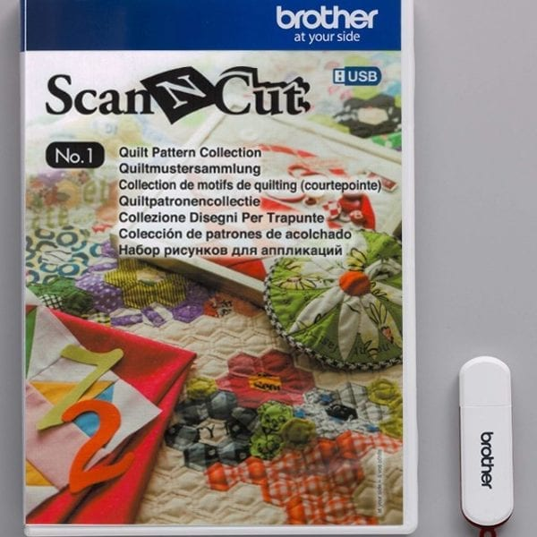 BROTHERSCANNCUT 3D Paper Craft Pattern Collection NO.1 50 desings CAUSB1 (XF7564-001) 4977766731072 Cityplotter Zaandam