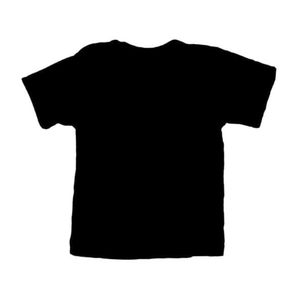 baby shirtje zwart effen korte mouw cityplotter zaandam