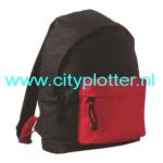 rugzak-zwart-met-rood-cityplotter-zaandam