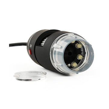 USB 8 LED 50X-500X 2MP Digitale microscoopcamera Digital Microscope Endoscope Magnifier Video Camera Cityplotter Zaandam
