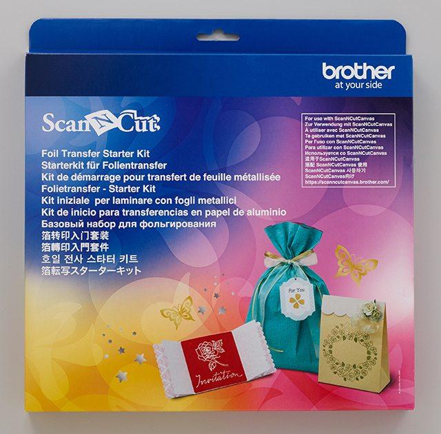 BROTHERSCANNCUT Folietransfer Starterkit foil transfer starter kit CAFTKIT1 4977766769822 Cityplotter Zaandam