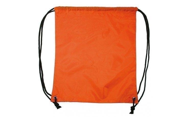 Rugzak Gymtas Sporttasje rug zak gym tas onbedrukt tasjes oranje backpack orange Cityplotter Zaandam