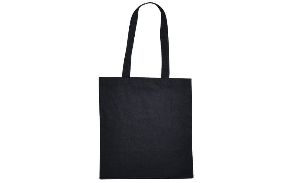Tas tasjes katoenen katoen zwart bag shopper black Cityplotter Zaandam