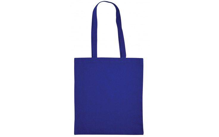 Tas tasjes katoenen koninklijk kobalt blauw bag shopper royal blue Cityplotter Zaandam