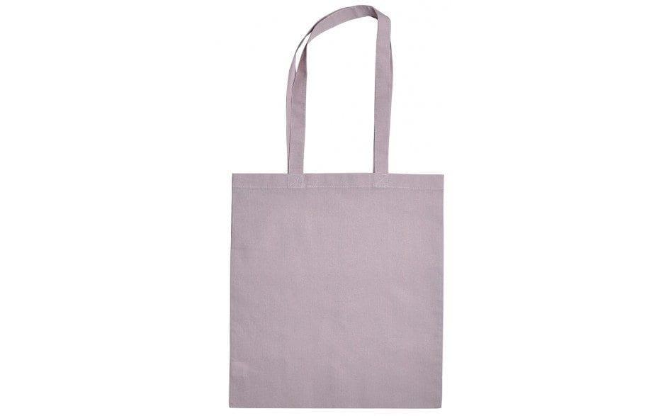 Tas tasjes katoenen paarse bag shopper purple Cityplotter Zaandam