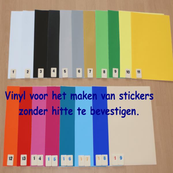 Vinylfolie 19 VOORDEELPAKKET SALE Cityplotter Zaandam
