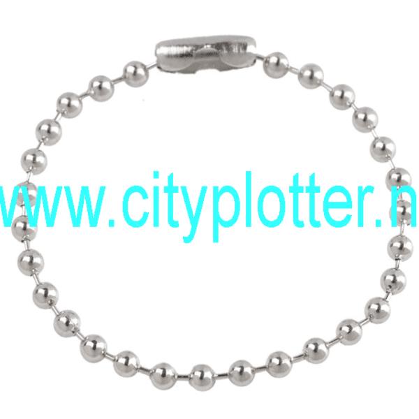 10 Bolletjes kettingen voor 1,99 euro bolletjesketting kettingen sleutelhanger 15 cm Cityplotter Zaandam