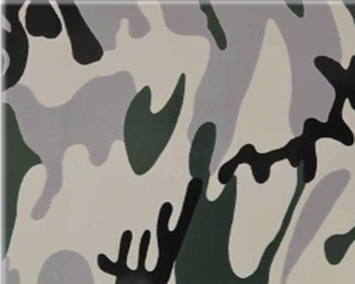 Flexfolie speciaal camouflage SS 3719 Cityplotter Zaandam