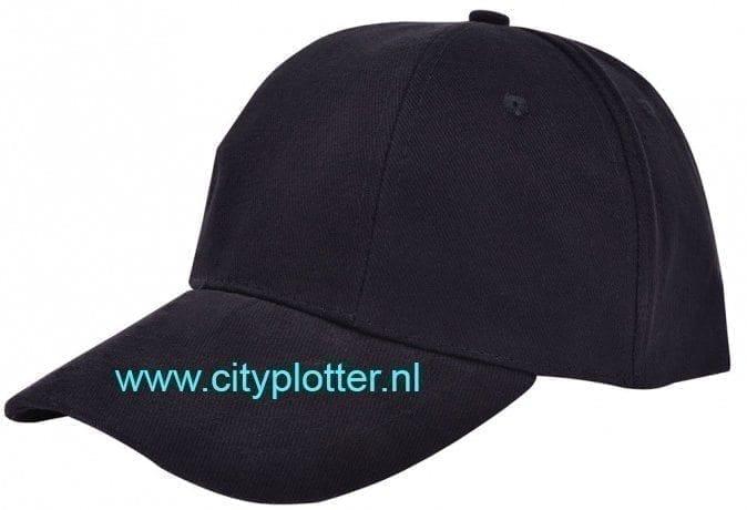 Pet zwart met wit cap black and white om te bedrukken trucker caps verstelbare Cityplotter Zaandam