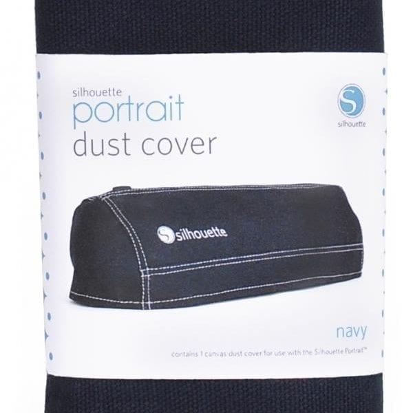 Silhouette portrait stofhoes marine dustcover dust cover navy COVER-POR-NAV-3T 814792012437 Cityplotter Zaandam