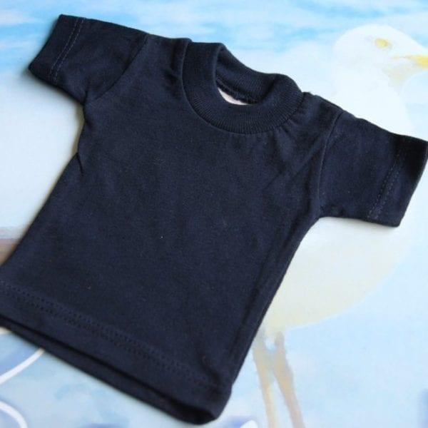 Mini tshirt shirtjes t-shirt donker blauw marine blauw navy blue dark blue shirtje City Plotter Zaandam