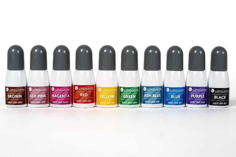 Silhouette Mint inkt voor de mint geel ink yellow MINT-INK-YEL 814792018439 Cityplotter Zaandam