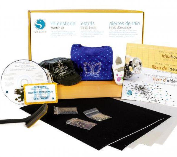 Silhouette starterset rhinestone starter kit KIT-RHINE-3T 814792011850 Cityplotter Zaandam