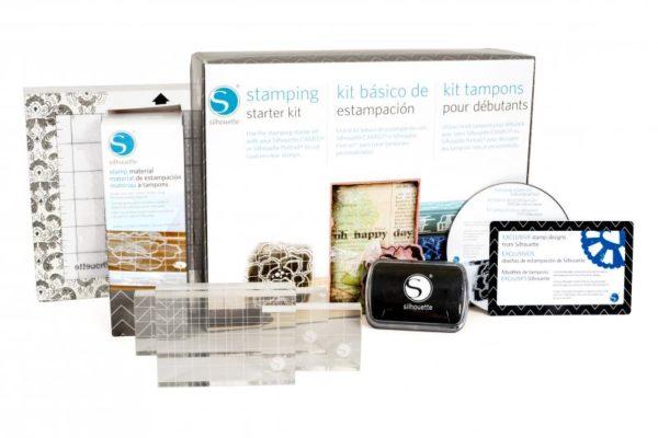 Silhouette starterset stempel stempels stamping starter Kit KIT-STAMP-3T 814792011812 Cityplotter Zaandam