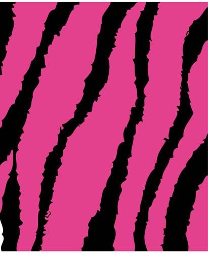 Flexfolie speciaal roze zebra strepen print heattransfer smooth pink zebra stripes print