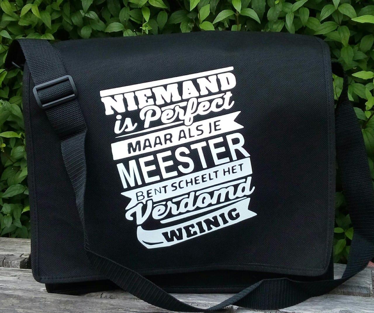 Cadeau Een Tas Voor De Meester