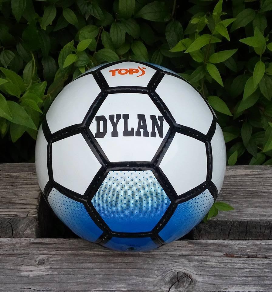 voetbal bedrukt cityplotter zaandam