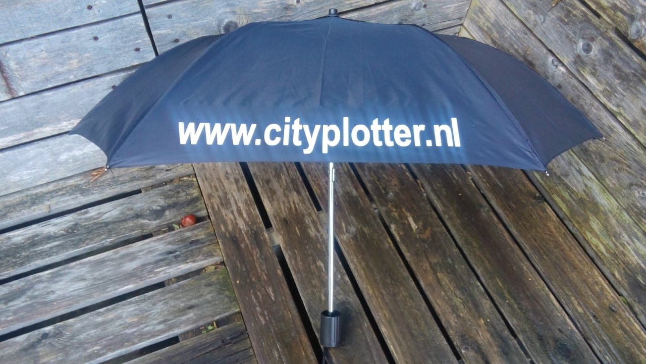 Flexfolie voor Nylon Cityplotter Zaandam