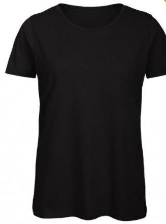 zwart shirt dames ronde hals cityplotter zaandam