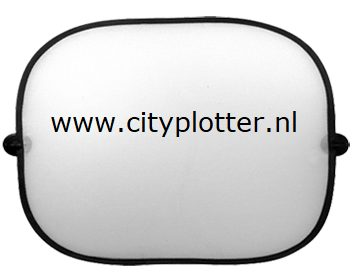 autoraam zonnescherm sublimatie cityplotter zaandam