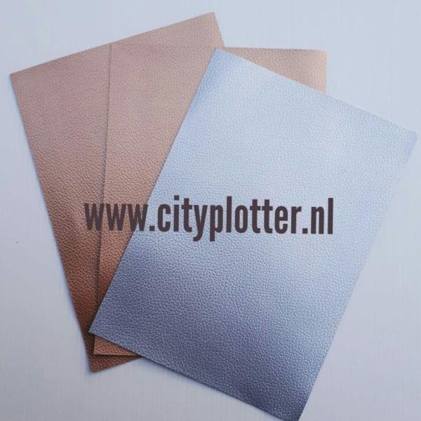 leer 2 x goud 2x zilver cityplotter