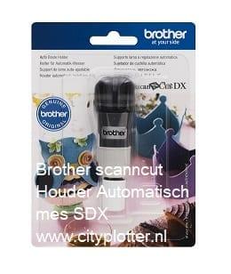 Brotherscanncut DX Houder Automatisch Instelbaar Mes Standaard Auto Blade Holder CADXHLD1 4977766794589 Cityplotter Zaandam