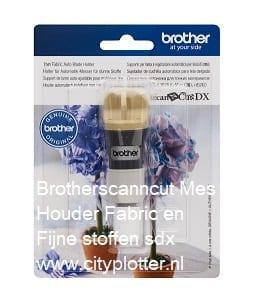 Brotherscanncut DX Houder voor Automatisch Mes Dunne Stoffen en Fijne Materialen Thin Fabric Auto Blade holder CADXHLQ1 4977766794602 Cityplotter Zaandam