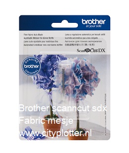 Brotherscanncut DX Automatisch instelbaar mes voor Dunne stoffen en Fijne materialen Thin Fabric Auto Blade CADXBLDQ1 EAN 4977766794565 Cityplotter Zaandam