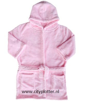 badjas roze cityplotter zaandam