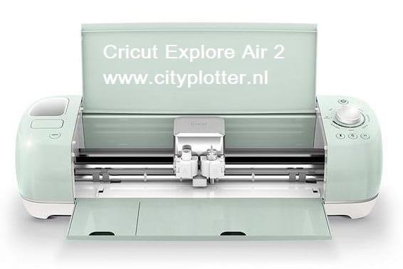 AKTIE Cricut Explore Air 2 (EU version) & GRATIS SUPER 15 PAKKET (VINYL/FLEX/FLOCK) ter waarde van 15 euro (2007000) Cityplotter