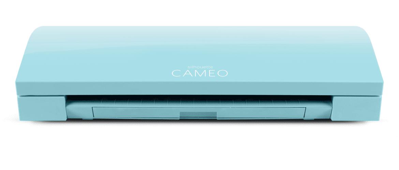 Silhouette Cameo 3 Blue LIMITED EDITION & GRATIS SUPER 15 pakket (vinyl/flex/flock) Cityplotter Zaandam ( Inclusief11x A4 van div kleuren 2x flex vellen en 2x flockvellen er GRATIS bij.Ter waarde van 15,10 euro) en gratis verzenden.