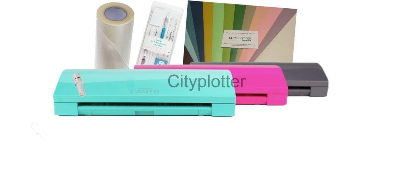 SILHOUETTE CAMEO 3 Voordeelpakket meer kleuren cityplotter