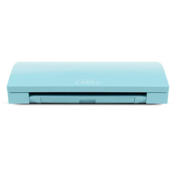 Silhouette Cameo 3 AQUA BLUE en GRATIS SUPER 15 pakket (vinyl/flex/flock) EAN 819177021448 Cityplotter Zaandam