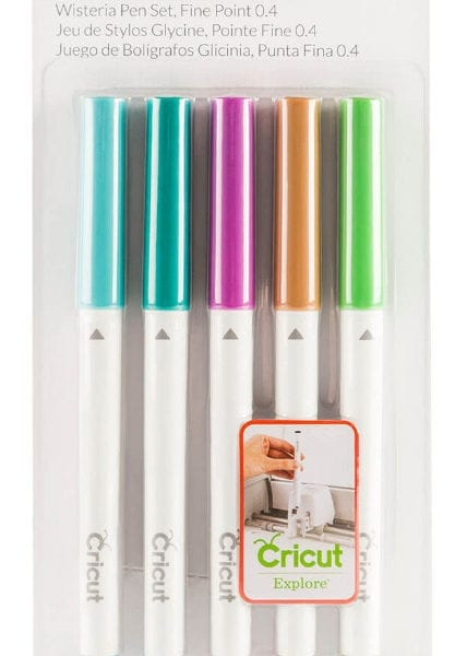 Cricut Wisteria Pen Set Fine Point 0,4 2003976 Cityplotter