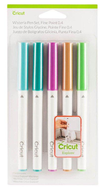 Cricut Wisteria Pen Set Fine Point 0,4 2003976 Cityplotter