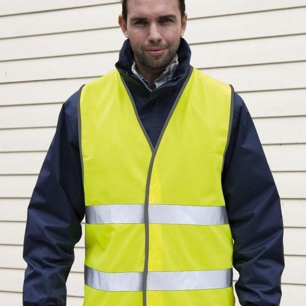 Veiligheidsvest geel volwassen voor Cityplotter
