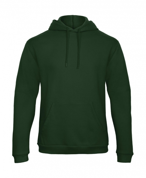 b&c hoodie groen cityplotter