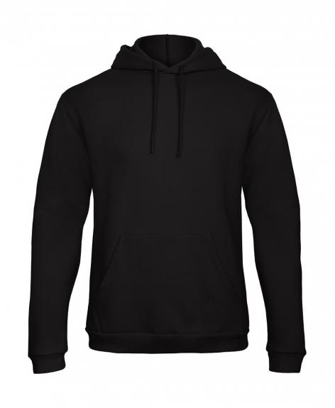 b&c hoodie zwart cityplotter