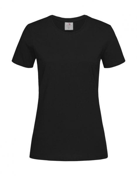 stedman classic dames tshirt zwart cityplotter
