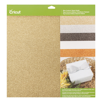Cricut Glitter Cardstock Classics Sampler 2003713 Cityplotter EAN 093573788642