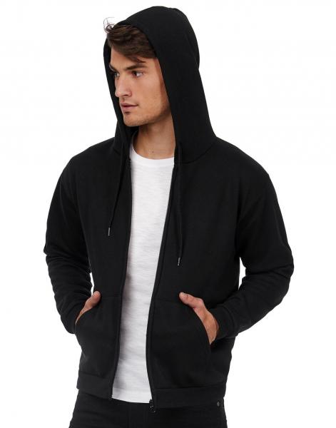 hoodie sweater met rits no label B&C Cityplotter Unisex