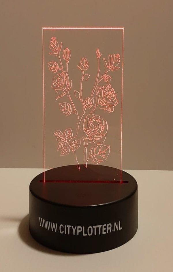 led lamp rode rozen cityplotter