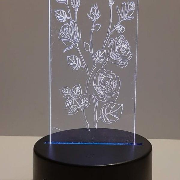 led lamp rozen wit cityplotter