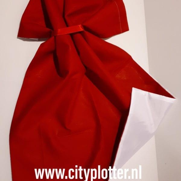 sublimatie kerstzak rood wit 2 cityplotter