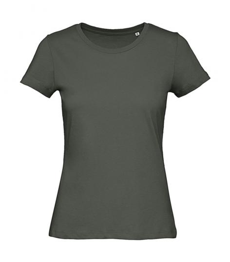 tshirt inspire millennial khaki ronde hals cityplotter