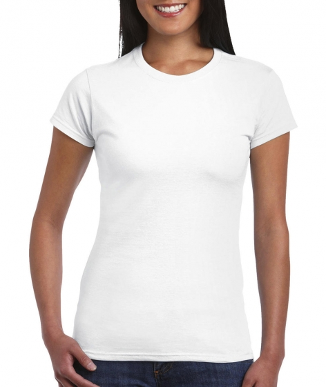 Softstyle® Ladies' T-Shirt wit Cityplotter