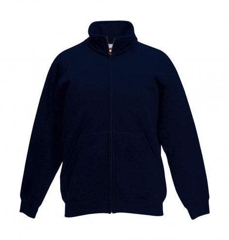 fruit of the loom navy kids classic sweat jacket cityplotter
