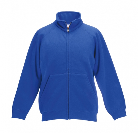 fruit of the loom royal kids classic sweat jacket cityplotter