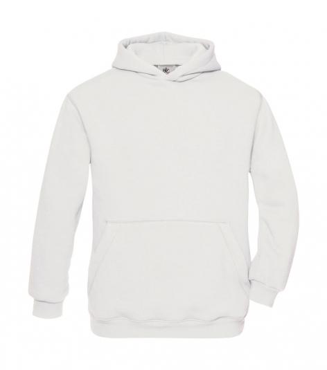 hoodie kinderen white b&c cityplotter